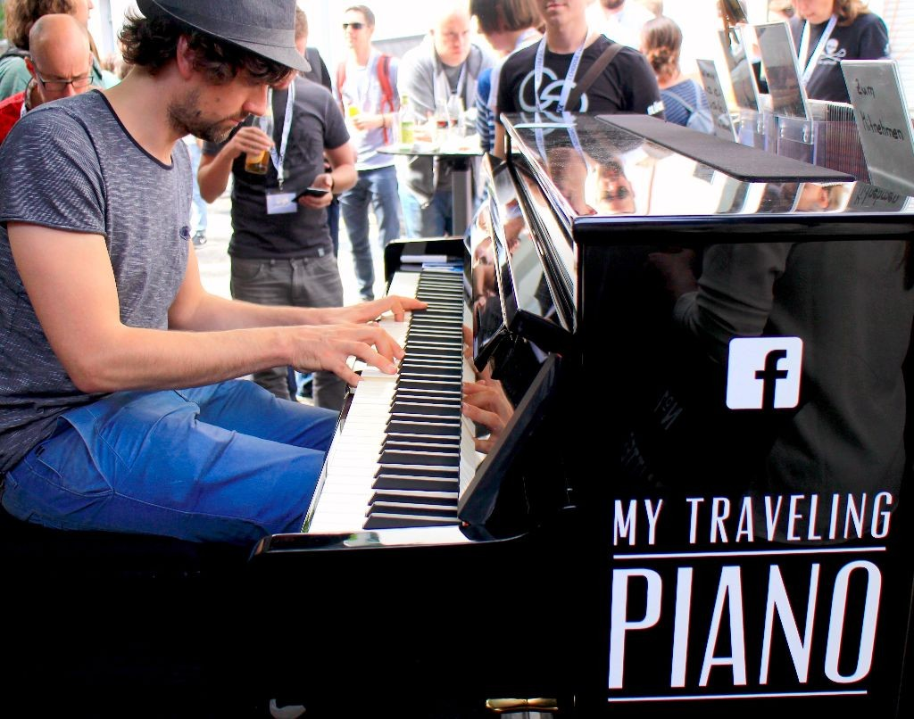 Joe Loehrmann My Traveling Piano
